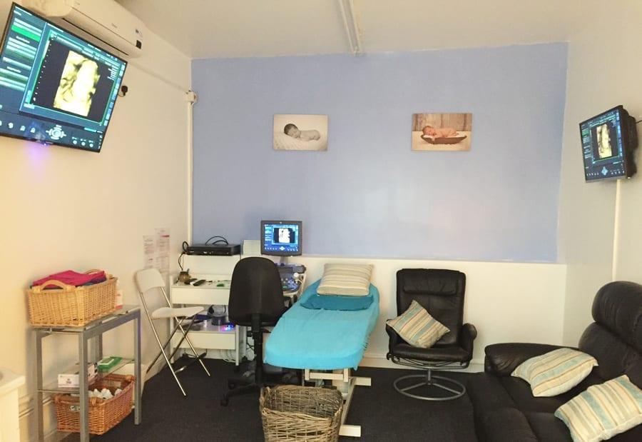 gender scan room
